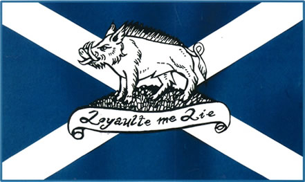 Boar and Saltire